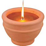 Mintcraft C57655-3l Candle Citronella with Bowl