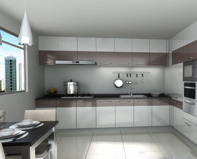 New Model Kitchen Cabinet High Gloss Lacquer Spray For ...
