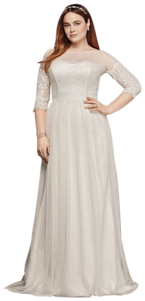 Online Get Cheap Plus Size Boho Wedding Dress With Sleeves