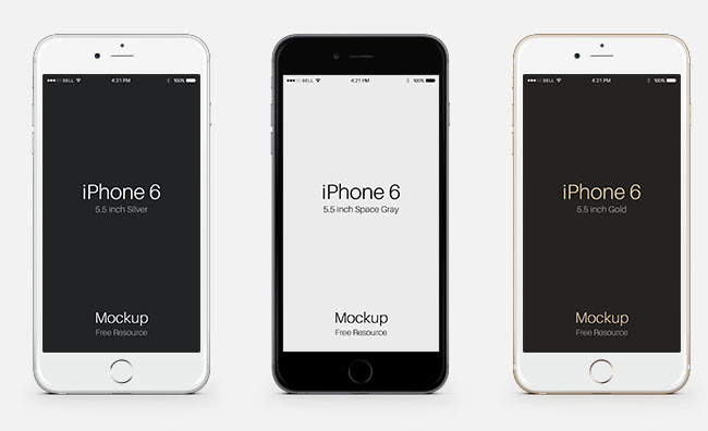 Editable Iphone Template