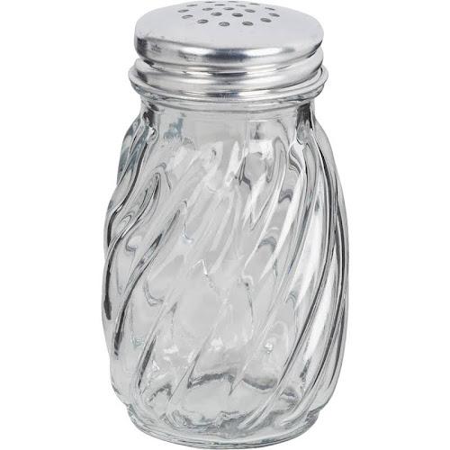 Anchor Hocking Swirl Salt Pepper Crystal Shaker 12 Pack