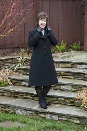 Coat Collar up