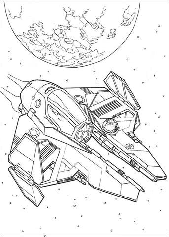 aca21fa873bc3 Click the Star Wars Ship 8 coloring page to view printable version.