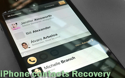 Data Recovery Tech Support: Lost Contacts on iPhone After Update to iOS 7, How to Recover Deleted Contacts from iPhone