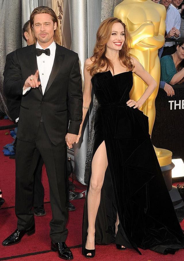 vestido de Angelina Jolie Oscar 2012