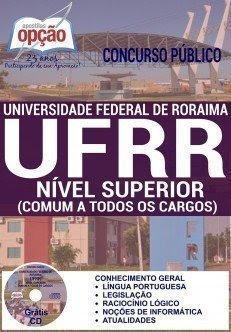 Apostila Concurso UFRR NÍVEL SUPERIOR (COMUM A TODOS OS CARGOS)