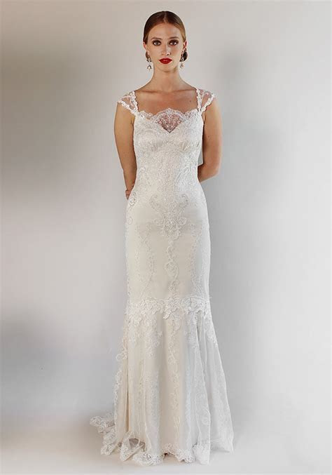 A Closer Look At Claire Pettibone Wedding Dresses   CHWV