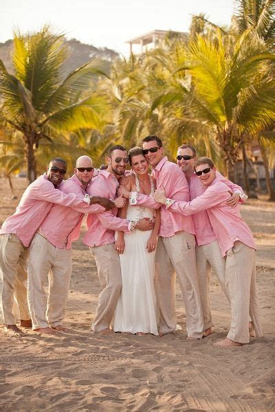 ideas  beach wedding men  pinterest