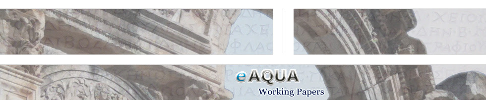 eAqua Working Papers @ Digitale Altertumswissenschaften