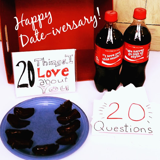 Peaches, Coca-Cola, and a Date-iversary Date in a Box