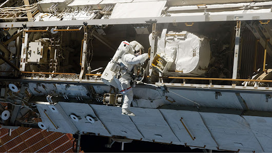 Spacewalk VR Training, Muscle and Bone Research Today | Space Station