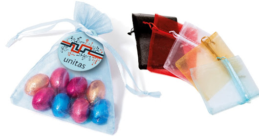 Branded Sweets Bags Easter Chocolate Eggs