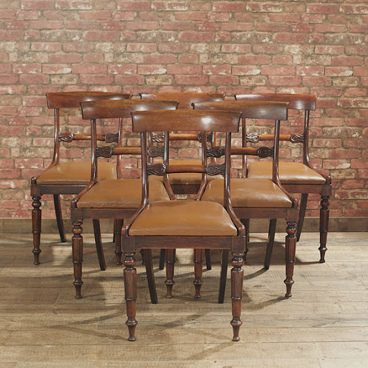 William IV Set of 6 Dining Chairs – London Fine Antiques