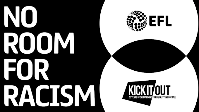 No Room For Racism: EFL Clubs to Support Kick It Out's Week of Action