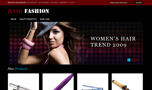 Hair Fashion - Free Beauty Magento Theme