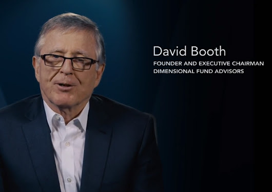 David Booth on Forecasting