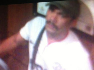A security camera still of one of the alleged Phuket resort attackers