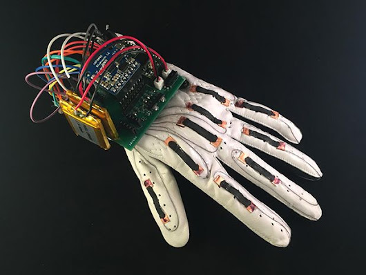Low-Cost Pliable Materials Transform Glove Into Sign-to-Text Machine