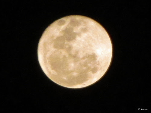 Experience of Zoom on Moon