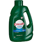 Cascade Advanced Power Gel Dishwasher Detergent, Fresh, 125 oz