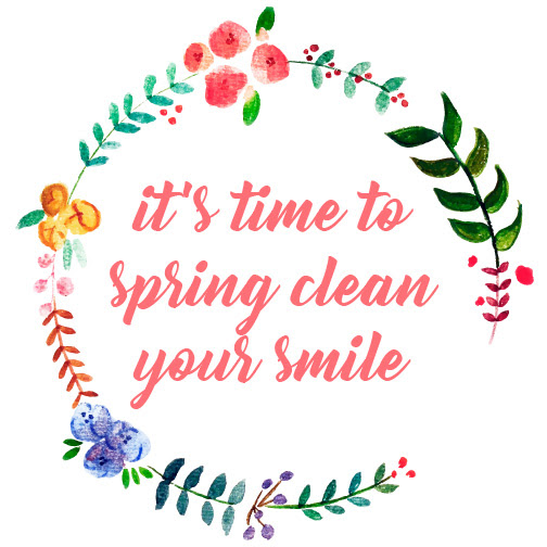 it's time to spring clean your smile