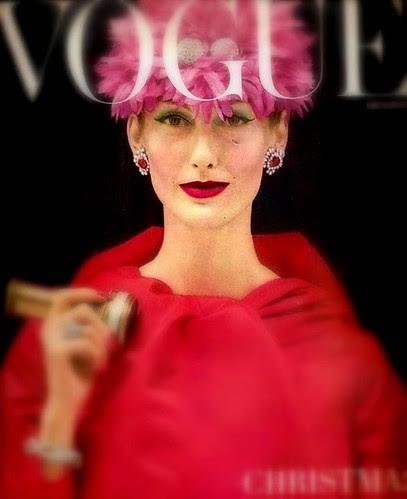 1955 Vogue Magazine Cover