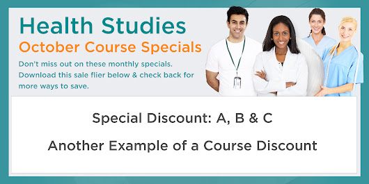 Course Specials - Health Studies