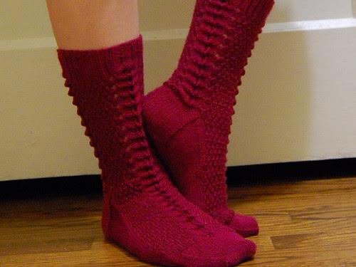 Grandma's Birthday Socks