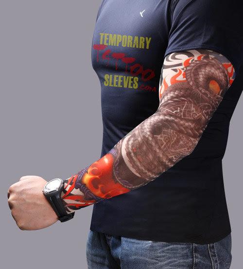 Ecchrondonra Sleeve Tattoo Dragon