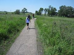 Walking through the Prairie