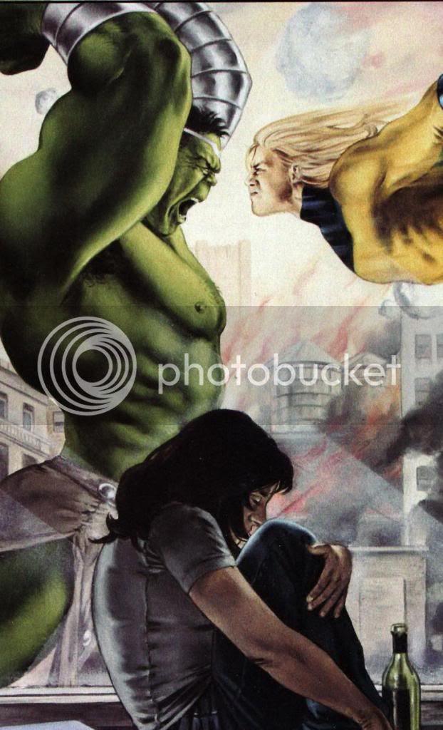 Hulk vs Sentinela