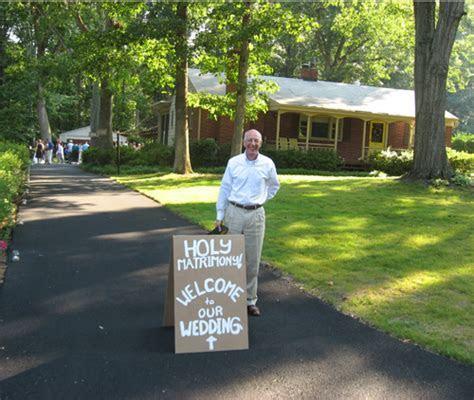 Real Weddings: Sherry and John's Backyard DIY Wedding