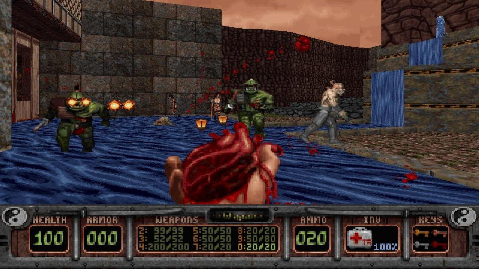 Grab Shadow Warrior Classic for free on GOG screenshot