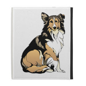 Collie iPad Case