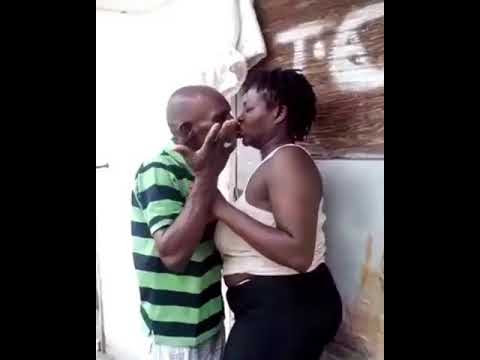 Married Woman Kissing Her Lover Gets Stuck To His Lips (Photos, Video)