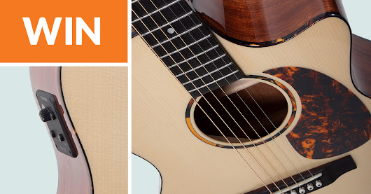 Win an acoustic guitar from Recording King and Fishman!