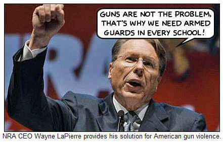 NRA CEO Wayne LaPierre Provides His Solution For American Gun Violence