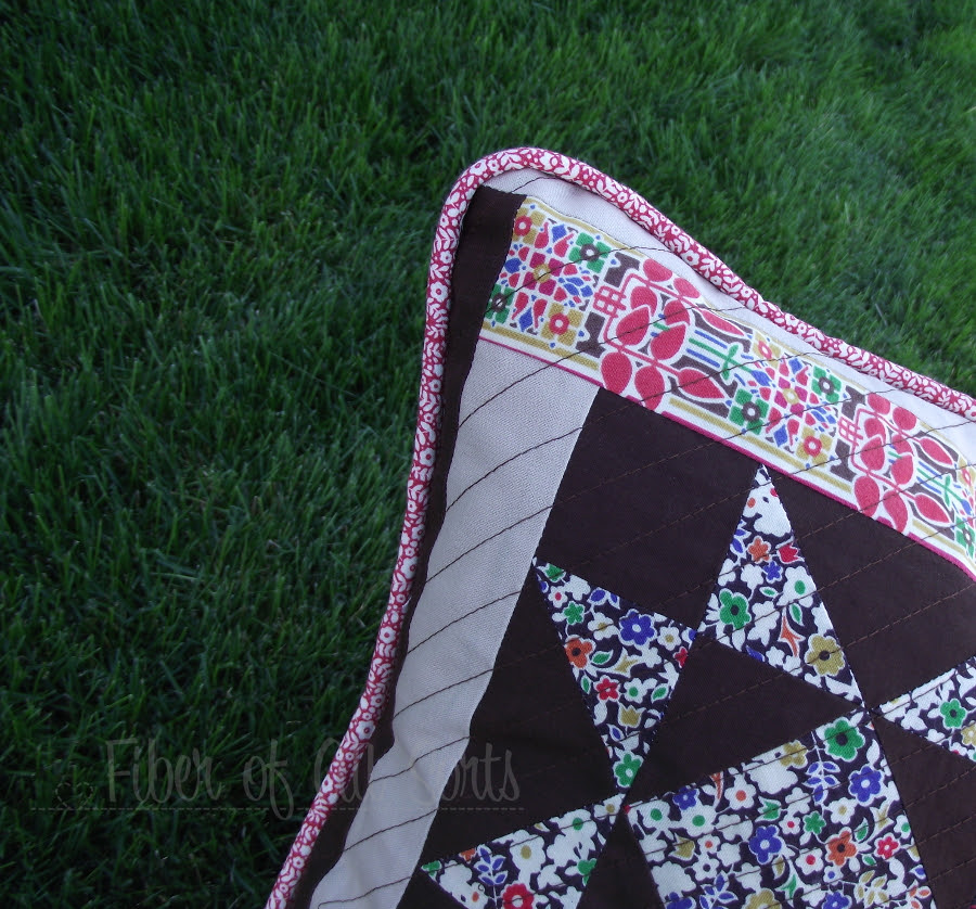 Liberty Pillow Challenge - Front piping