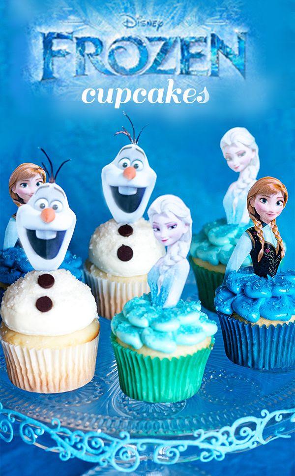 Disney's Frozen Cupcakes