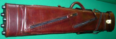 Jim Murnak custom cue case, built for Fast Mikie