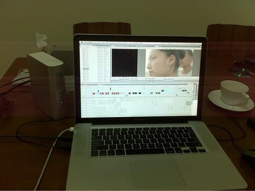 Editing GIRL IN WATER