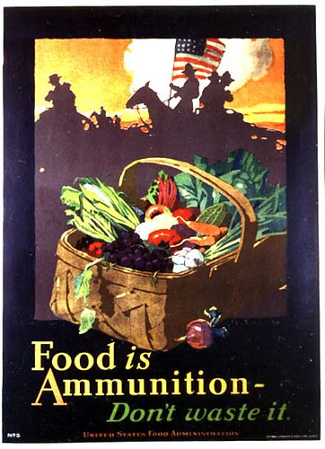 FOOD IS AMMUNITION by J.E. Sheridan 1918
