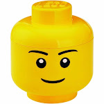 LEGO Large Storage Container Head, Boy