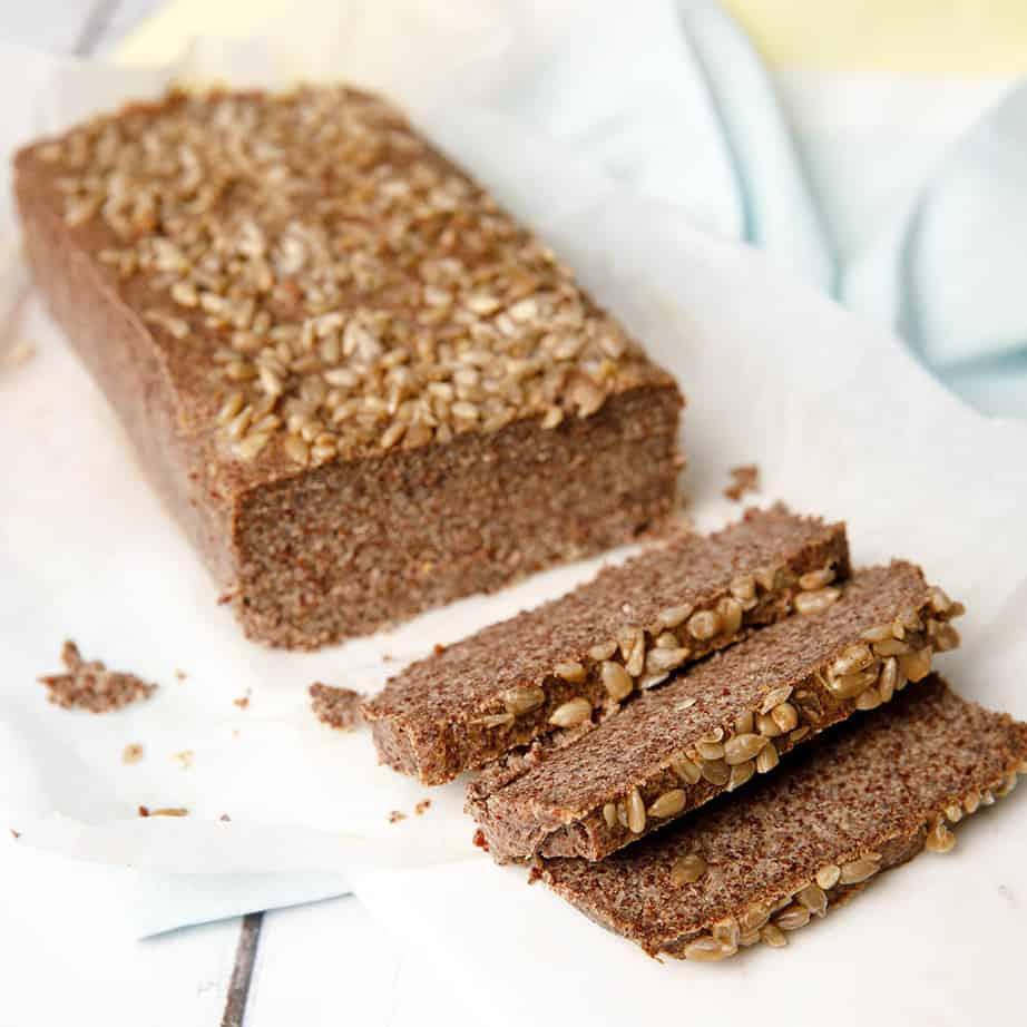3 Min Gluten Free Vegan Quinoa Chia Bread - ThermoKitchen