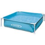 Intex Mini Frame Kids Beginner Kiddie Swimming Pool, Blue