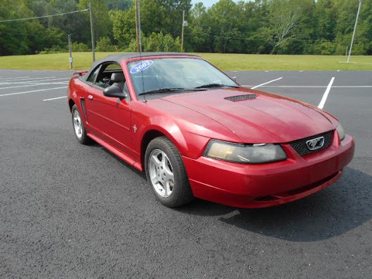 Used 2002 Ford Mustang for Sale in Louisa  KY 41230 Big Blue Motor Sales