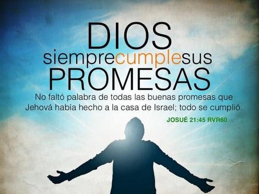 Resultado de imagen de Las promesas de Dios