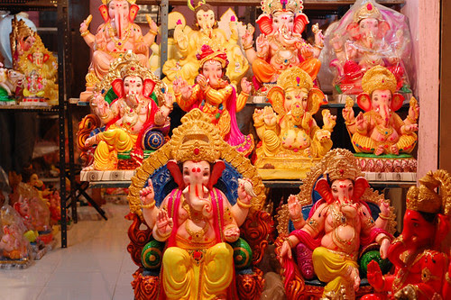 In preparation for Ganesh Chaturti