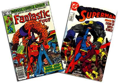 FF #249, Superman v. 2 #8