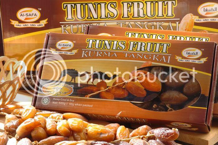 Kurma Tangkai Super Tunis Fruit - 500gm